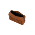 Camel Le Rectangle Dentelle Bag, Résille pattern - Black Glitter lining image number 3