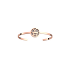 Girafe Bangle, Rose gold finish, Light Pink / Light Grey image number 2