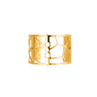 Manchette Girafe 40 mm, Finition dorée image number 1