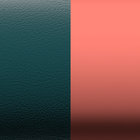 Leather insert - Bracelets & Bags, Midnight Blue / Metal Blush image number 1
