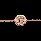 Bracelet chaîne Girafe 25 mm, Finition dorée rose image number 1