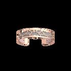 Manchette Fleurs de Mariage, Finition dorée rose, Rose Clair / Gris Clair image number 2