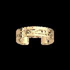 Fleurs du Nil Bracelet 14 mm, Gold finish image number 1