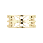 Rayon Bracelet 25 mm, Gold finish image number 1