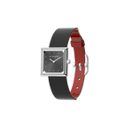 Patent Red / Black Watch, Silver Finishes image number 2