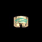 Dunes Ring, Gold finish, Light Pink / Turquoise image number 2