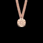 Collier Lotus, Finition dorée rose, Bleu Outremer / Rose Sirène image number 2