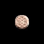 Infini token Round 16 mm, Rose gold finish image number 1