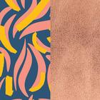 Banda de cuero estampado, Papagayo / Rosa Sirena image number 1
