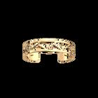 Manchette Tresse 14 mm, Finition dorée image number 1