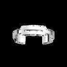 Bracelet Centre 14 mm, Finition argentée image number 1