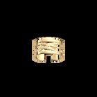 Dunes ring 12 mm, Gold finish image number 1