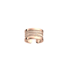 Liens Ring, Rose gold finish, Cream / Gold Glitter image number 1