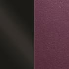 Leather insert, Patent Black / Dark Purple image number 1
