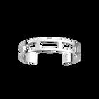 Bracelet Rectangles 14 mm, Finition argentée image number 1
