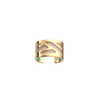 Bague Ruban, Finition dorée, Rose Clair / Turquoise image number 1