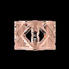 Manchette Promenade 40 mm, Finition dorée rose image number 1