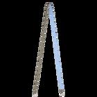 Thin shoulder strap, Olive Green / Cornflower image number 1