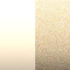 Leather insert - Bracelets & Bags, Cream / Gold Glitter image number 1