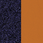 Leather insert, Lapis Lazuli / Papyrus image number 1