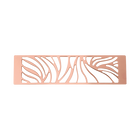 Decorative plaque Perroquet 40 mm, Rose gold finish image number 1