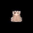 Pins Scarabée, Finition dorée rose image number 1