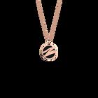 Collier Vibrations, Finition dorée rose, Marine Mat / Ruthénium image number 1