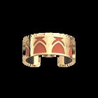Manchette Amulette, Finition dorée, Blush / Bronze image number 2