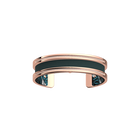 Pure Bracelet, Rose gold finish, Leaves / Petrol image number 2