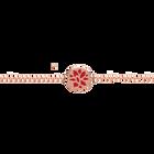 Cadena Nenuphar, Acabado Dorado Rosa image number 1