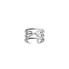 Louxor ring 12 mm, Silver finish image number 1