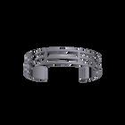 Labyrinthe Bracelet 14 mm, Ruthenium finish image number 1