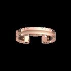 Manchette Pure Originel, Finition dorée rose, Bronze Cubique / Pêche Blanche image number 2