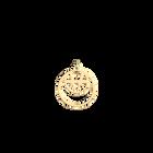 Ibiza Pendant Double Round 16mm, Gold finish image number 1