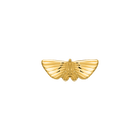 Papillon Pins, Gold finish image number 1