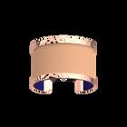 Pure Martelée Bracelet, Rose gold finish, Batik / Sandstone image number 1