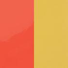 Vinyleinsatz, Neon Orange / Kanariengelb image number 1