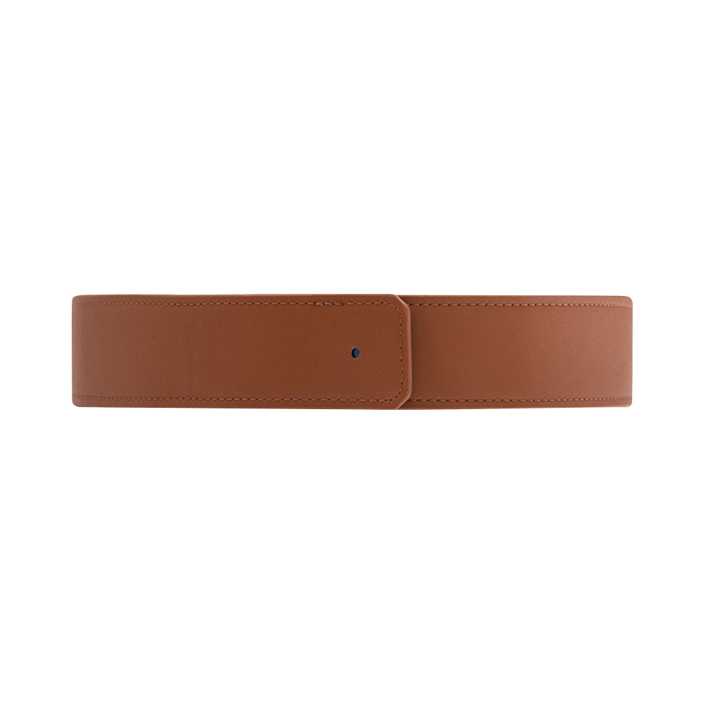 Ceinture largeur 33 mm, Bleu Denim / Canyon image number 1