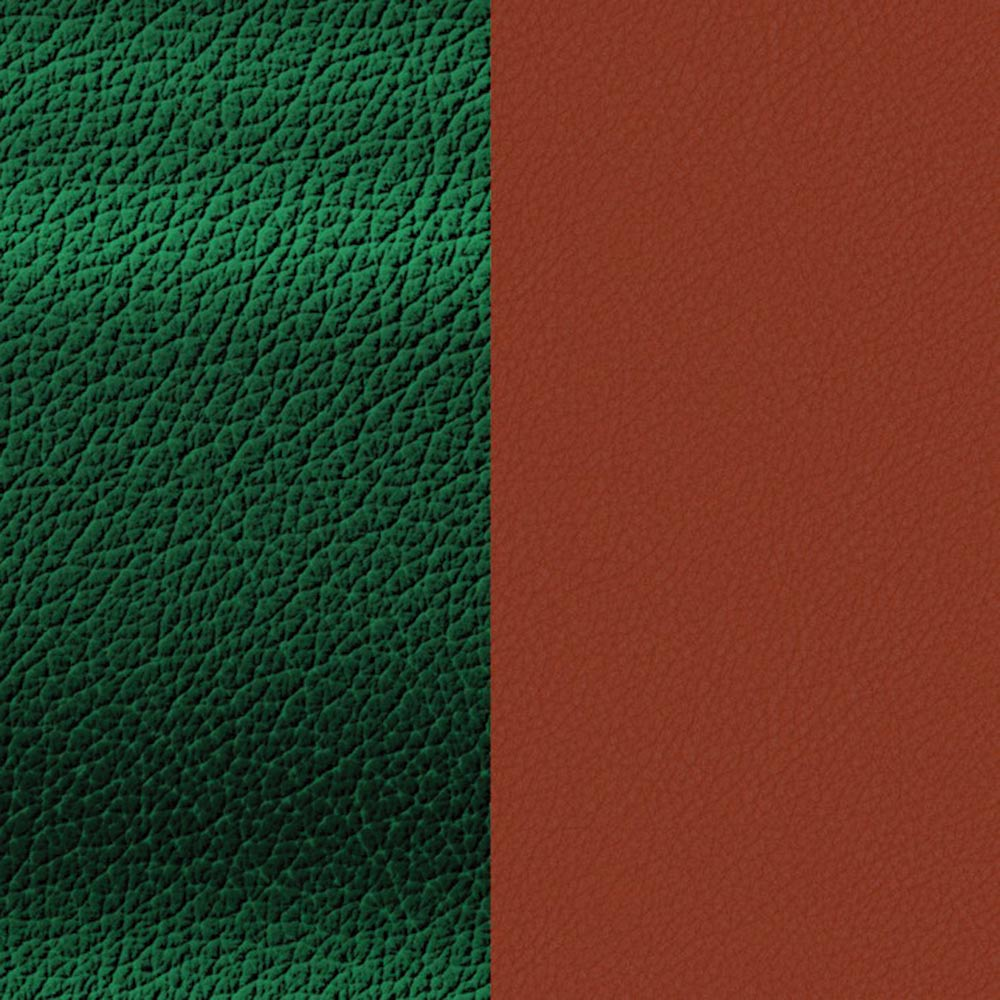 Leather insert, Malachite / Garnet image number 1