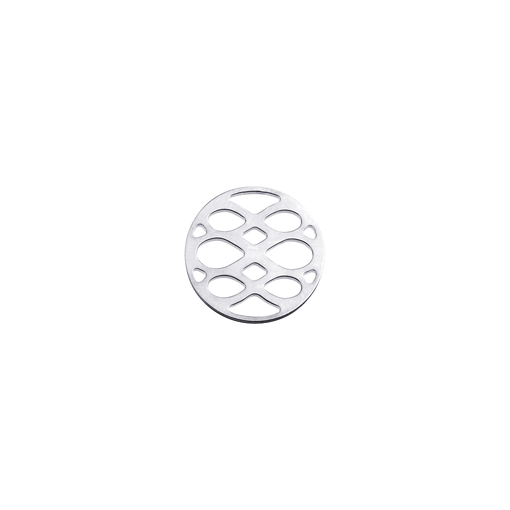 Infini token Round 16 mm, Silver finish image number 1