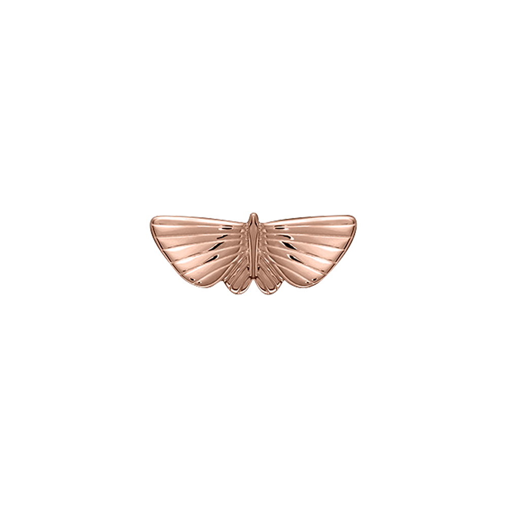 Papillon Pins, Rose Gold finish image number 1