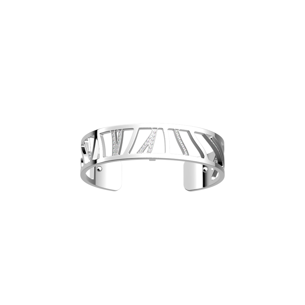 Perroquet Bracelet 12 mm, Silver finish image number 1