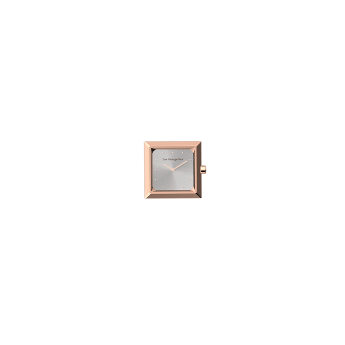 Watch case Absolue square, Rose gold finish image number 1