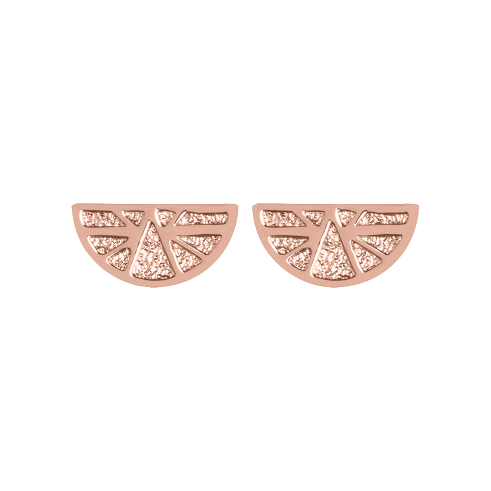Ibiza Earrings, Rose gold finish image number 1